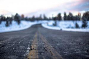 highway pothole